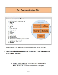 click to download our communication plan template